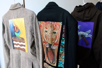 Jackets painted for Art of Prevention